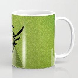 Zelda Link Triforce Coffee Mug