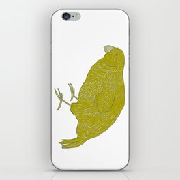 Kakapo Says Hello! iPhone Skin