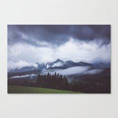 Weather break Canvas Print