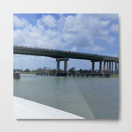 Tybee Island Bridge Metal Print