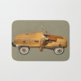Roy Rogers Pedal Car Bath Mat