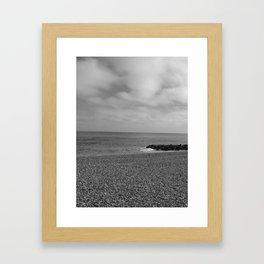 Bray, Irland (1) - BW Framed Art Print