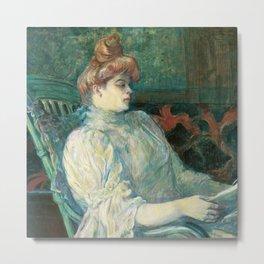 Henri de Toulouse-Lautrec - Madame Marthe Metal Print