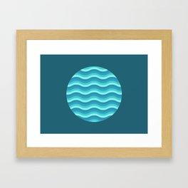 Patterned 3A Framed Art Print