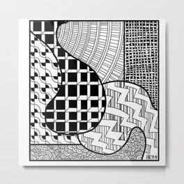 Square A Metal Print
