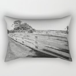 Field and Fence Rectangular Pillow