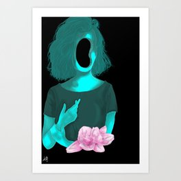 I used to be smart, Now I'm just stupid Art Print