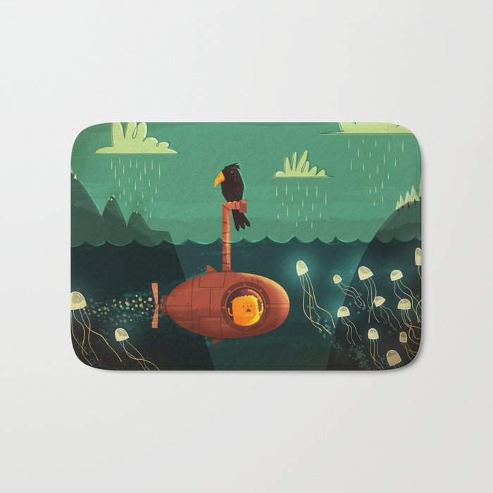 Submarine Bath Mat