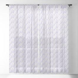 Mini Impressions: FIELD PANSY Sheer Curtain