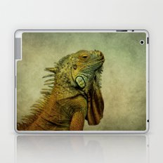 Green Iguana Laptop & iPad Skin