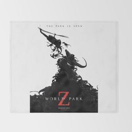 World Park Z Throw Blanket