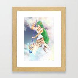 Palutena - Kid Icarus Framed Art Print