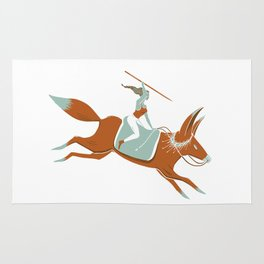 Fox Rider Rug