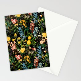 FLORAL AND BIRDS V Stationery Cards