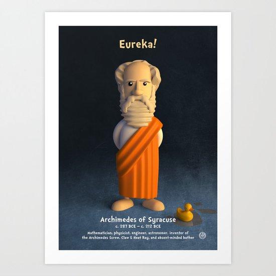 Archimedes of Syracuse - Eureka! Art Print