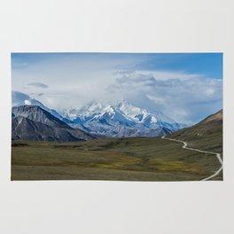 Mount McKinley Denali National Park Alaska Rug