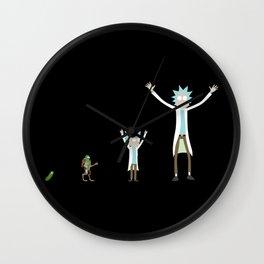 Evolution of Rick Wall Clock