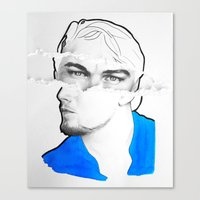 leonardo Canvas Prints featuring Leonardo by Eva BF