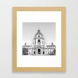 City Hall Pasadena. Framed Art Print