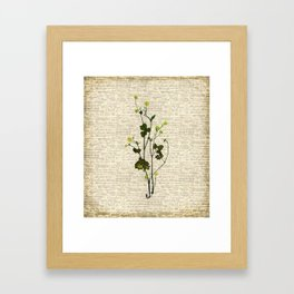 leaves. floral picture for home decor. Abstract Art. Wall art decorative 5 Framed Art Print