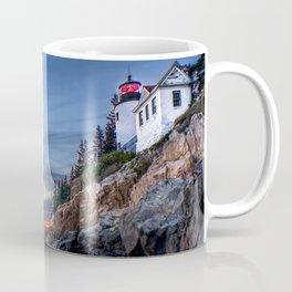 Bass Harbor Light in Acadia National Park Coffee Mug