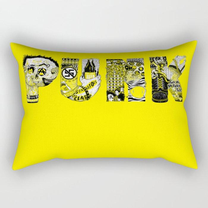 PUNK Rectangular Pillow