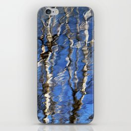 Abstract Aspen Tree Reflection iPhone Skin