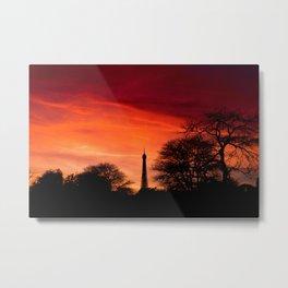 Doomsday Sunset Metal Print