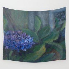 Hydrangea AC151223c-13 Wall Tapestry