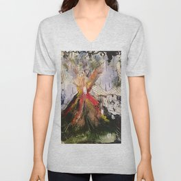 Eruption Unisex V-Neck