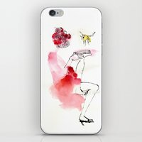 reading iPhone & iPod Skins featuring Reading by Hyegallery