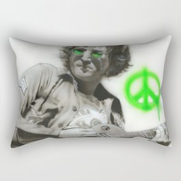 'LennonArtwork' Rectangular Pillow