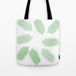 Fern Branches Pattern Tote Bag