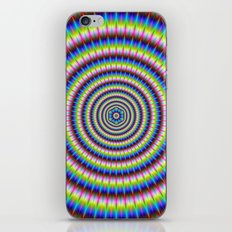 Particles and Waves with Floral Motif iPhone & iPod Skin