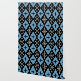 Mid Century Modern Atomic Triangle Pattern 121 Wallpaper