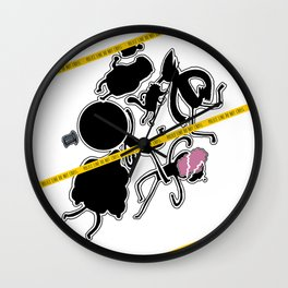 Regular Murder Show by zombieCraig Wall Clock