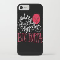 watch iPhone & iPod Cases featuring French Poppa by Chris Piascik