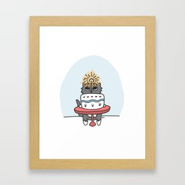 Time for Cake! Framed Art Print