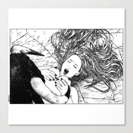 asc 459 - Le prince taureau (The bull prince) Canvas Print