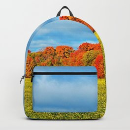 The Field and the Forest in October Backpack