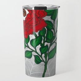 Caught -Eyeball Flower Travel Mug