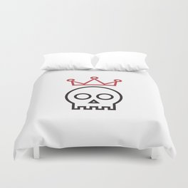 Hamlet. To be or not to be Duvet Cover