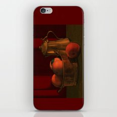 Still life with peaches iPhone & iPod Skin