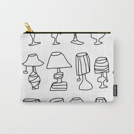 lamps Carry-All Pouch