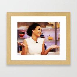 Naya Rivera Framed Art Print