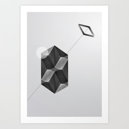 Space two Art Print