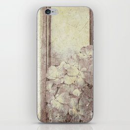 Flowers in the water iPhone Skin