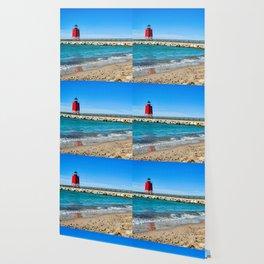 """""""Charlevoix Lighthouse"""" Wallpaper"""