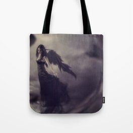 Black Angel Tote Bag