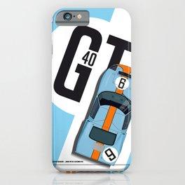 GT40 Le Mans 1968 Rodriguez-Bianchi iPhone Case